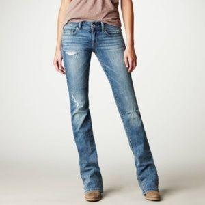AE American Eagle Vintage Skinny Kick Jeans Denim